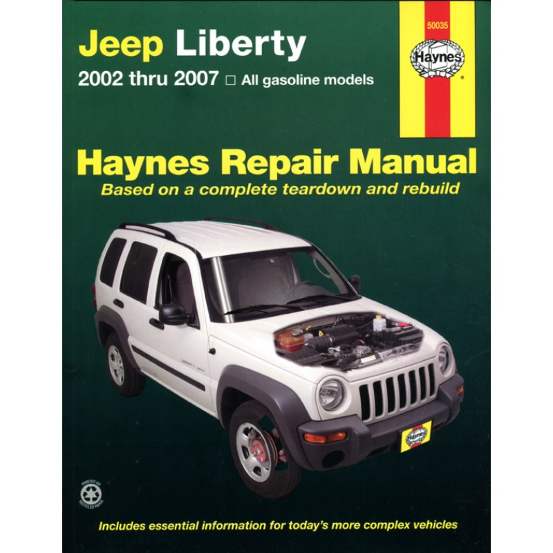 jeep liberty books manuals cd 39 s accessories. Cars Review. Best American Auto & Cars Review