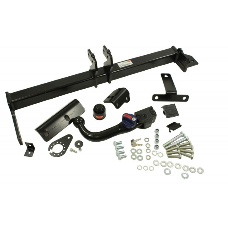 range rover evoque tow bar with detachable swan neck. Black Bedroom Furniture Sets. Home Design Ideas