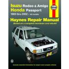 Isuzu Rodeo, Amigo, and Honda Passport Haynes Repair Manual covering multiples