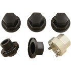 Locking Wheel Nuts Steel Range Rover Classic